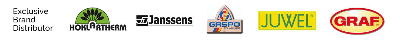 Exclusive USA distributor for Hoklartherm, Janssens, Gaspo, Juwel, and Graf products