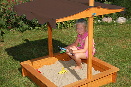 Felix Sandbox storage compartment